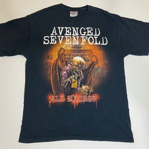 Vintage Avenged Sevenfold All Access Shirt Sz M